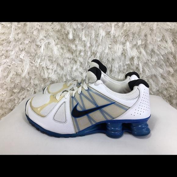 6921da35e11b4c Nike Shox Agent Gs Running Shoes Size 6Y